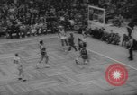 Image of basketball match Boston Massachusetts USA, 1961, second 12 stock footage video 65675055779
