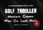 Image of Masters Tournament Georgia United States USA, 1961, second 1 stock footage video 65675055780