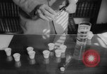 Image of test of oral polio vaccine Dade Country Florida USA, 1960, second 10 stock footage video 65675055782