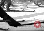 Image of motorcycle skiing Czechoslovakia, 1960, second 5 stock footage video 65675055786