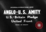 Image of Anglo-American Amity Washington DC USA, 1961, second 2 stock footage video 65675055787