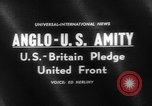Image of Anglo-American Amity Washington DC USA, 1961, second 5 stock footage video 65675055787