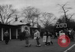 Image of strike at zoo Bronx New York City USA, 1961, second 8 stock footage video 65675055791