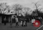 Image of strike at zoo Bronx New York City USA, 1961, second 9 stock footage video 65675055791