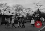 Image of strike at zoo Bronx New York City USA, 1961, second 10 stock footage video 65675055791