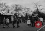 Image of strike at zoo Bronx New York City USA, 1961, second 11 stock footage video 65675055791