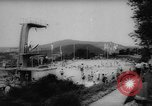 Image of gymnasts demonstrate Bad Kissingen Germany, 1959, second 8 stock footage video 65675055802