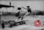 Image of gymnasts demonstrate Bad Kissingen Germany, 1959, second 9 stock footage video 65675055802