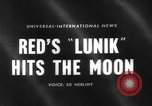Image of rocket launched to hit the moon Russia, 1959, second 2 stock footage video 65675055804
