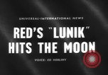Image of rocket launched to hit the moon Russia, 1959, second 4 stock footage video 65675055804