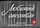 Image of song and dance ensemble Moscow Russia Soviet Union, 1961, second 3 stock footage video 65675055815