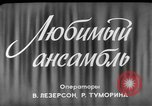 Image of song and dance ensemble Moscow Russia Soviet Union, 1961, second 4 stock footage video 65675055815