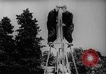 Image of single stage rocket Russia, 1955, second 11 stock footage video 65675055817
