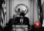 Image of officers give speech Washington DC USA, 1963, second 6 stock footage video 65675055827
