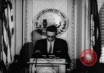 Image of officers give speech Washington DC USA, 1963, second 8 stock footage video 65675055827