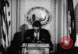 Image of officers give speech Washington DC USA, 1963, second 10 stock footage video 65675055827