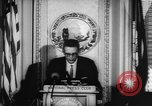 Image of officers give speech Washington DC USA, 1963, second 11 stock footage video 65675055827