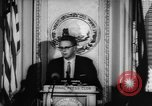 Image of officers give speech Washington DC USA, 1963, second 12 stock footage video 65675055827