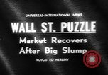Image of stock exchange New York United States USA, 1962, second 2 stock footage video 65675055837