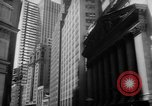 Image of stock exchange New York United States USA, 1962, second 8 stock footage video 65675055837