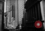 Image of stock exchange New York United States USA, 1962, second 9 stock footage video 65675055837