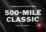 Image of Indianapolis 500 Mile Race Indianapolis Indiana USA, 1962, second 3 stock footage video 65675055841