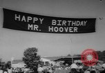Image of Herbert Clark Hoover West Branch Iowa USA, 1962, second 7 stock footage video 65675055853