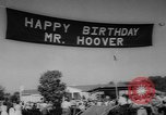 Image of Herbert Clark Hoover West Branch Iowa USA, 1962, second 8 stock footage video 65675055853
