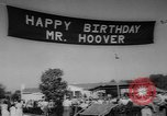 Image of Herbert Clark Hoover West Branch Iowa USA, 1962, second 9 stock footage video 65675055853
