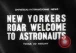 Image of welcome of American astronauts New York United States USA, 1962, second 3 stock footage video 65675055879