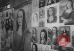 Image of Mona Lisa paintings New York City USA, 1963, second 5 stock footage video 65675055908