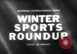 Image of winter sports activities Germany, 1963, second 2 stock footage video 65675055910