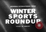 Image of winter sports activities Germany, 1963, second 5 stock footage video 65675055910