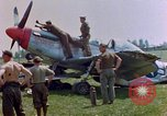 Image of men disassemble parts Germany, 1945, second 2 stock footage video 65675055921