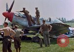 Image of men disassemble parts Germany, 1945, second 3 stock footage video 65675055921