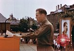 Image of Victory in Europe Day celebration Wiesbaden Germany, 1945, second 10 stock footage video 65675055929
