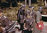 Image of German prisoners under American guard Wiesbaden Germany, 1945, second 9 stock footage video 65675055932