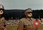 Image of surrendered Germans Wiesbaden Germany, 1945, second 9 stock footage video 65675055936