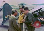 Image of U.S. Navy aviators Nagasaki Japan, 1945, second 3 stock footage video 65675055937