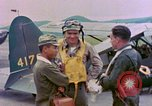 Image of U.S. Navy aviators Nagasaki Japan, 1945, second 9 stock footage video 65675055937