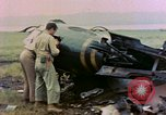 Image of wrecked American Vought FG-1D Corsair airplane Nagasaki Japan, 1945, second 8 stock footage video 65675055939