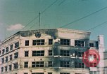 Image of U.S. sailors in Japanese city downtown Nagasaki Japan, 1945, second 2 stock footage video 65675055940