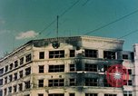 Image of U.S. sailors in Japanese city downtown Nagasaki Japan, 1945, second 3 stock footage video 65675055940