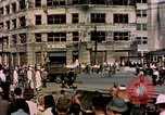 Image of U.S. sailors in Japanese city downtown Nagasaki Japan, 1945, second 11 stock footage video 65675055940
