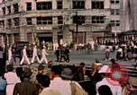 Image of U.S. sailors in Japanese city downtown Nagasaki Japan, 1945, second 12 stock footage video 65675055940