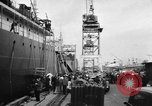 Image of oil tanker blast Alameda California USA, 1957, second 6 stock footage video 65675055944
