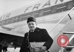 Image of French postman New York United States USA, 1957, second 7 stock footage video 65675055945
