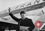 Image of French postman New York United States USA, 1957, second 9 stock footage video 65675055945