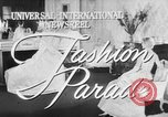 Image of Fashion Parade New York United States USA, 1957, second 1 stock footage video 65675055946