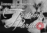 Image of Fashion Parade New York United States USA, 1957, second 2 stock footage video 65675055946